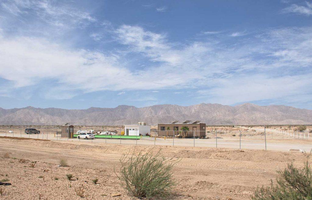 La construcción de presas a los ríos y fenómenos como la sequía agudizan la situación de las comunidades. Mexicali, Baja California)