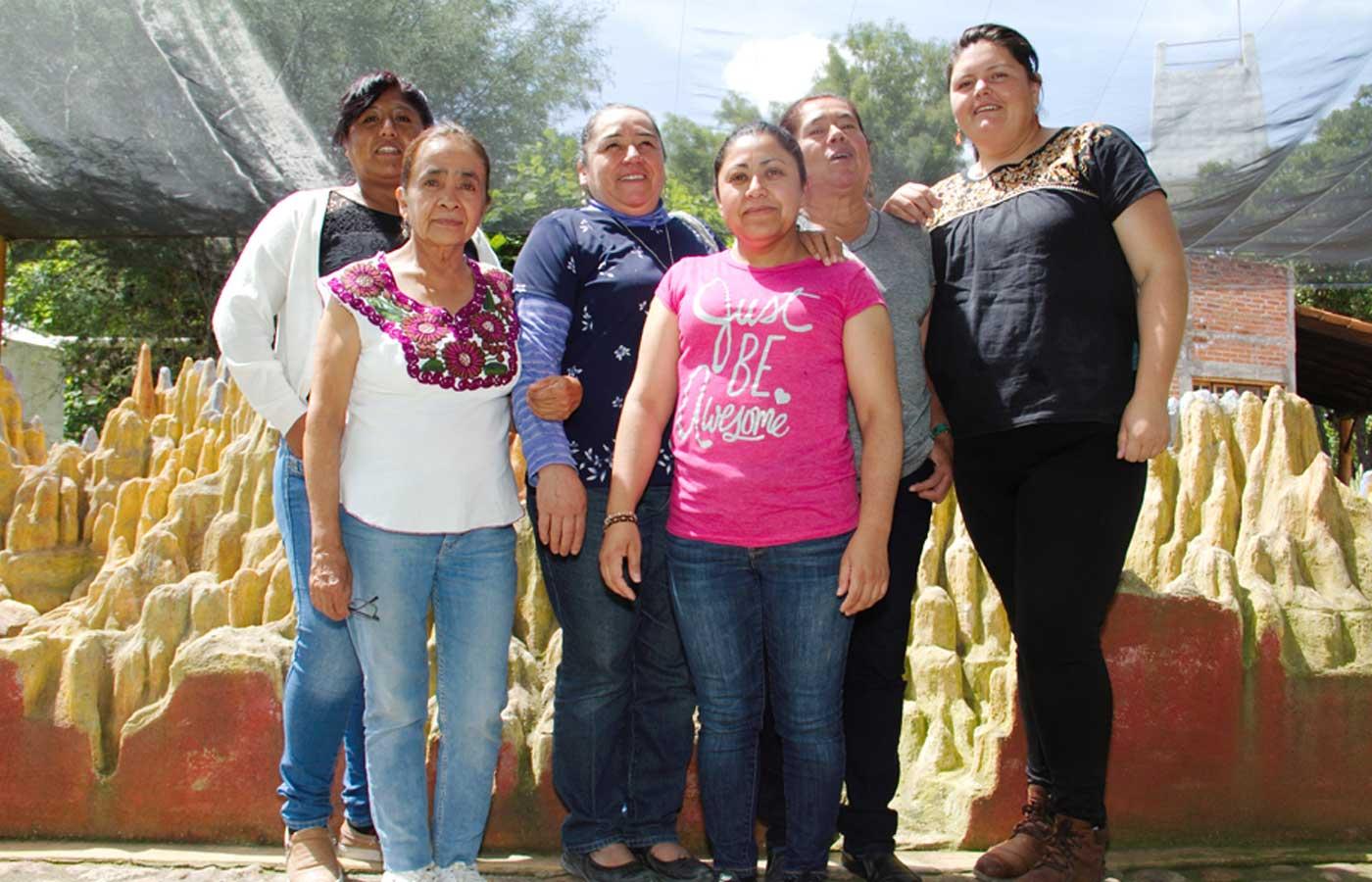 En todos estos procesos de resistencia el papel de las mujeres es imprescindible. (Dolores Hidalgo, Guanajuato)