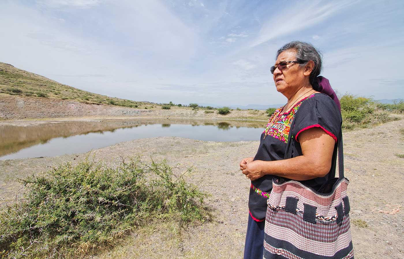 En el frente de la lucha y mirando al horizonte. (Ocotlán de Morelos, Oaxaca)
